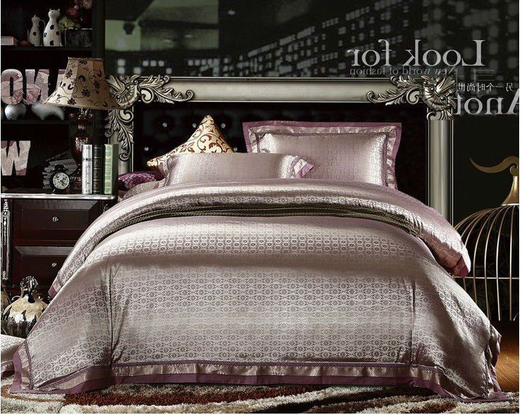 4pcs Noble King Silk Bedding Set/Comforter Set On AliExpress.com. $140.00