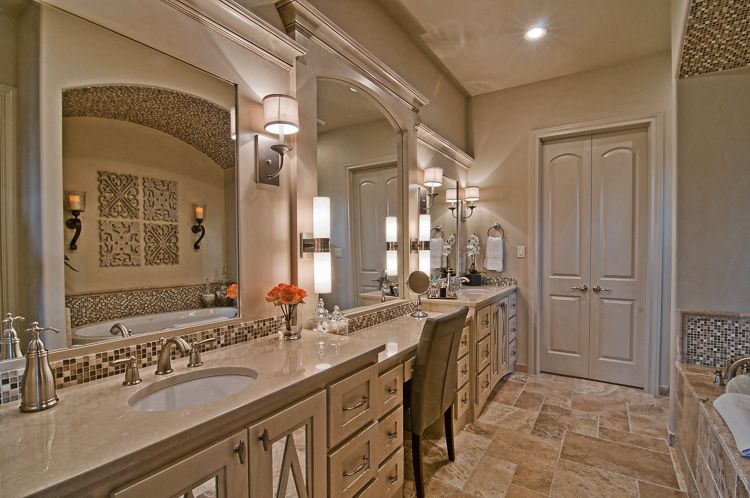 Master Bath Clearview Custom Homes