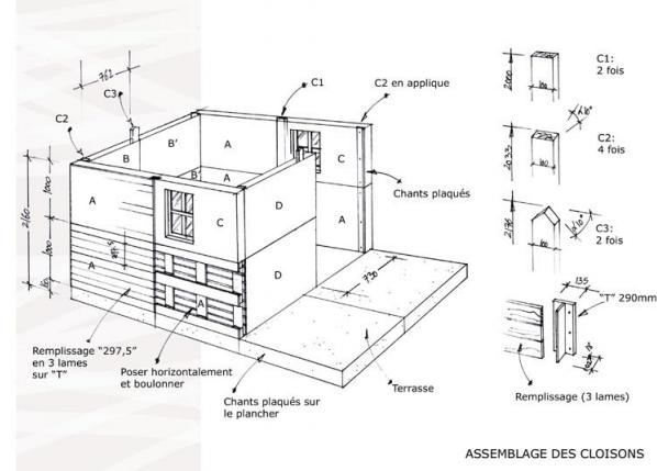 depuis quelques ann es la construction d 39 abris cabanes et maisons alternatives au parpaing. Black Bedroom Furniture Sets. Home Design Ideas