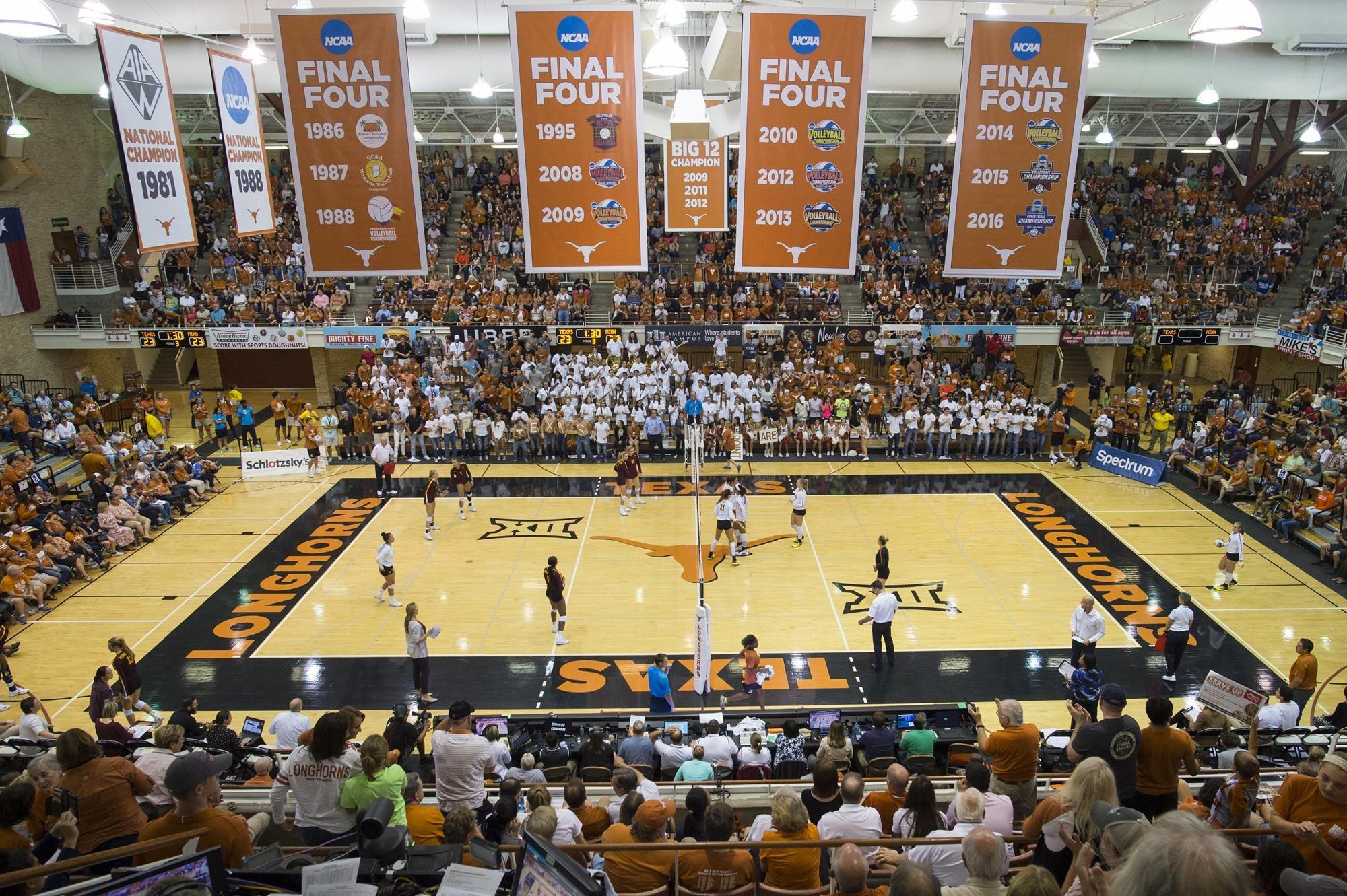 Volleyball Tops 2018 Big 12 Preseason Poll Volleyball Volleyball News Polls