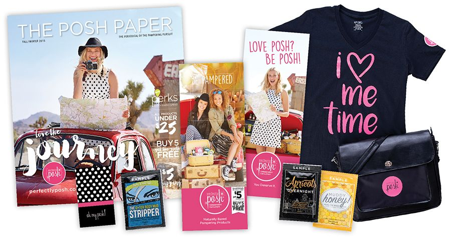 The Posh Portal gets new items each month and each week featured items will be on sale and link to a training so you know how to use it all.  Posh Portal items can be added to any individual order or the Hostess cart of any party order. There are no additional shipping charges for items added to your volume orders. Orders containing only Portal items also ship for just $5. Customers cannot view or purchase Posh Portal items. They are only visible and available to Consultants.