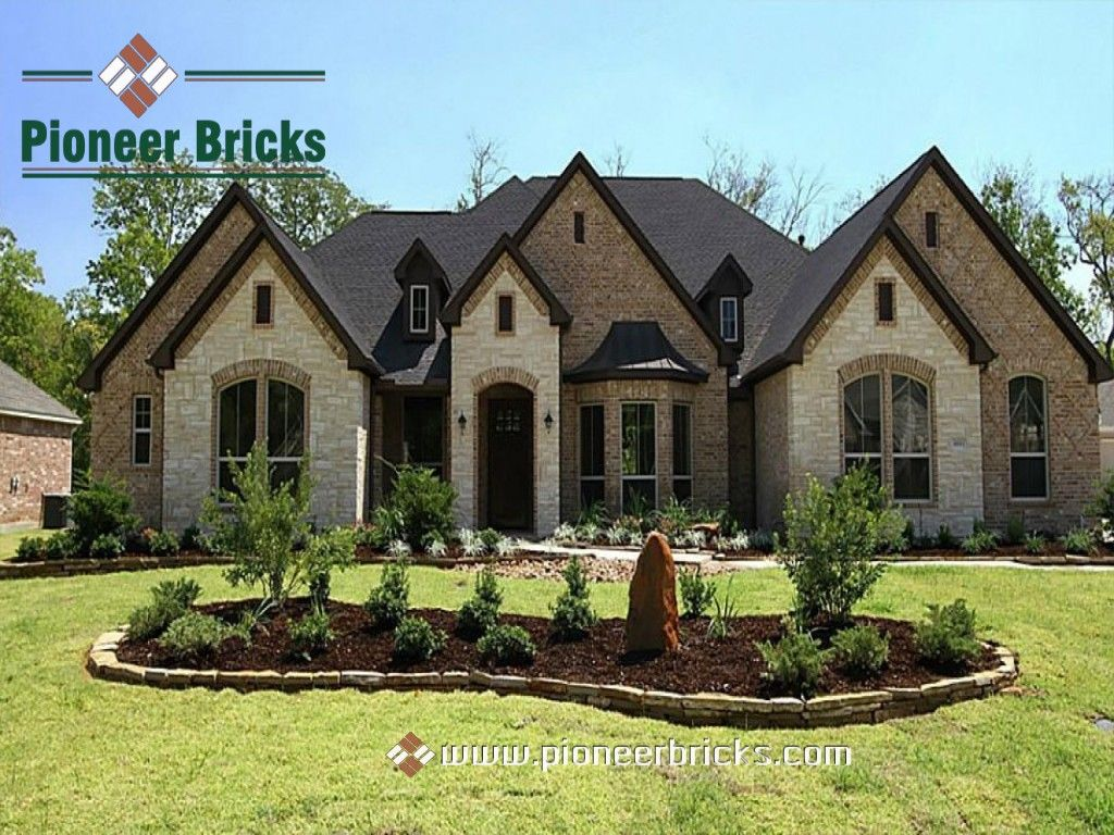 Establish A Solid Foundation Of Your Residential Or Business Space With Quality Bricks Pioneer Bricks Brick Exterior House Exterior House Colors Stucco Homes
