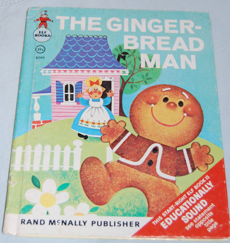 Vintage 1965 Children S Book The Gingerbread Man Run Run Fast As