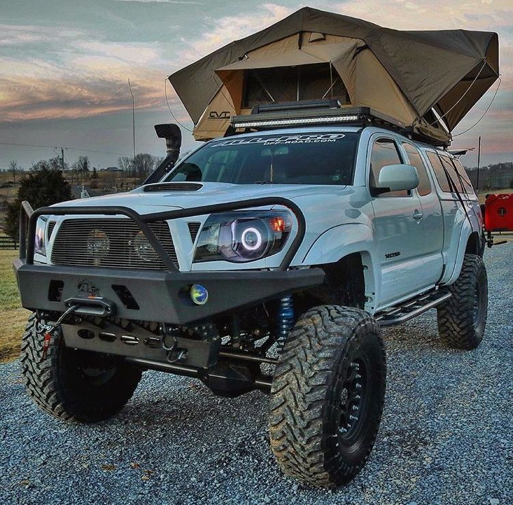 40 Excellent And Powerful Toyota Tacoma Camping Pictures