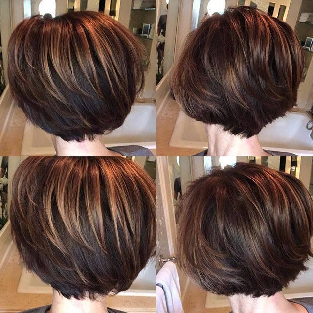 Dominique Sachse Short Stacked Bob Hairstyles Stacked Bob Haircut Hair Styles