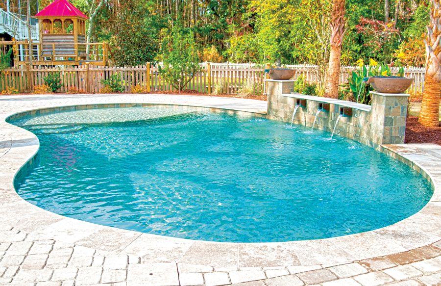 Freeform Inground Pools 110 Bhps Indoor Pool Design Pools Backyard Inground Swimming Pools Backyard Inground