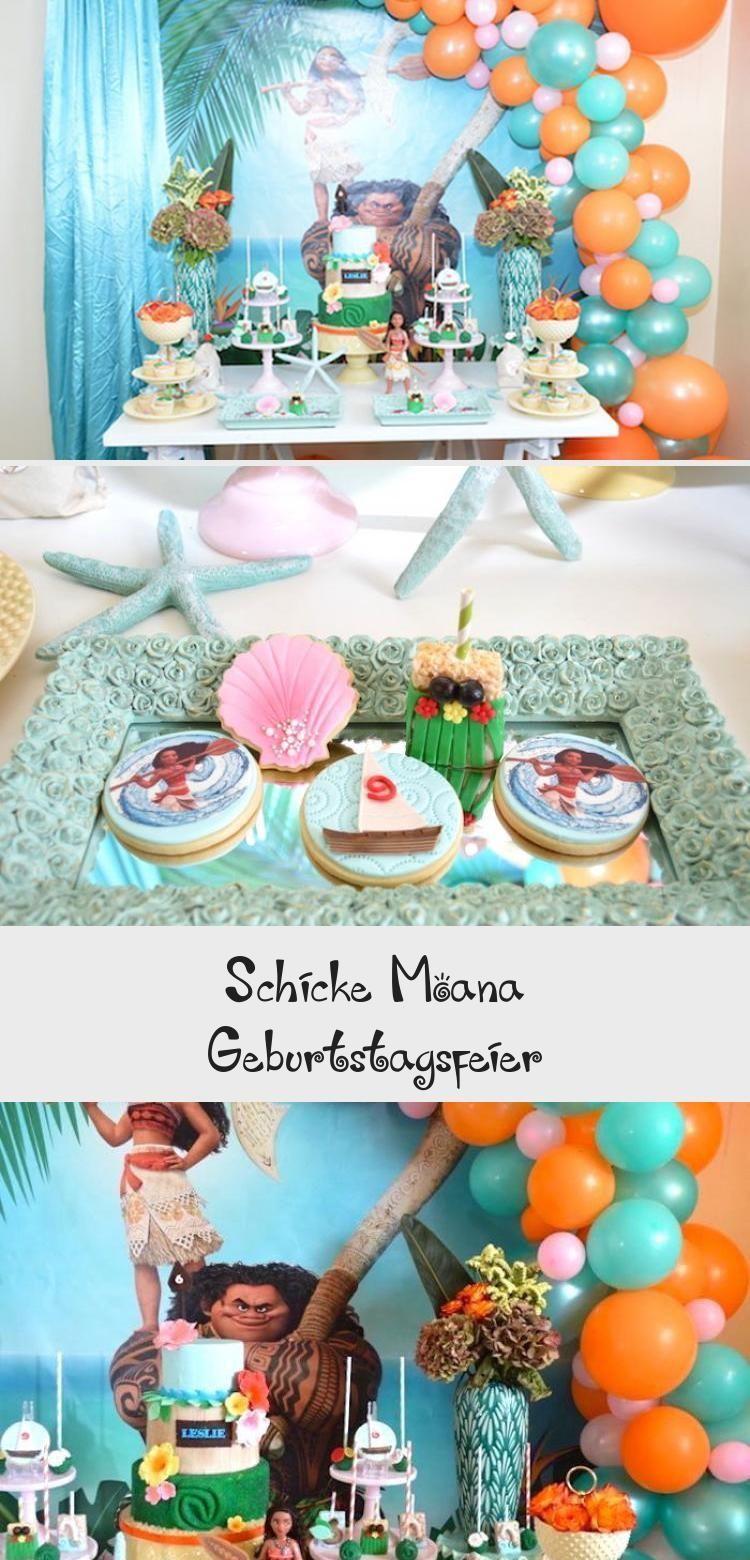 Photo of Schicke Moana Geburtstagsfeier #geburtstagsfeier #moana #schicke #PartyDecorati….