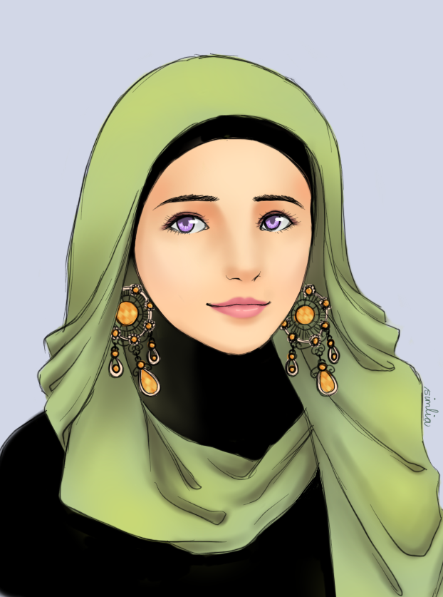Hijab Girl by on DeviantArt *What