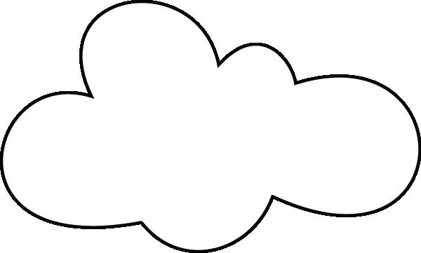Un Nuage Nuage Formes De Nuage Coloriage