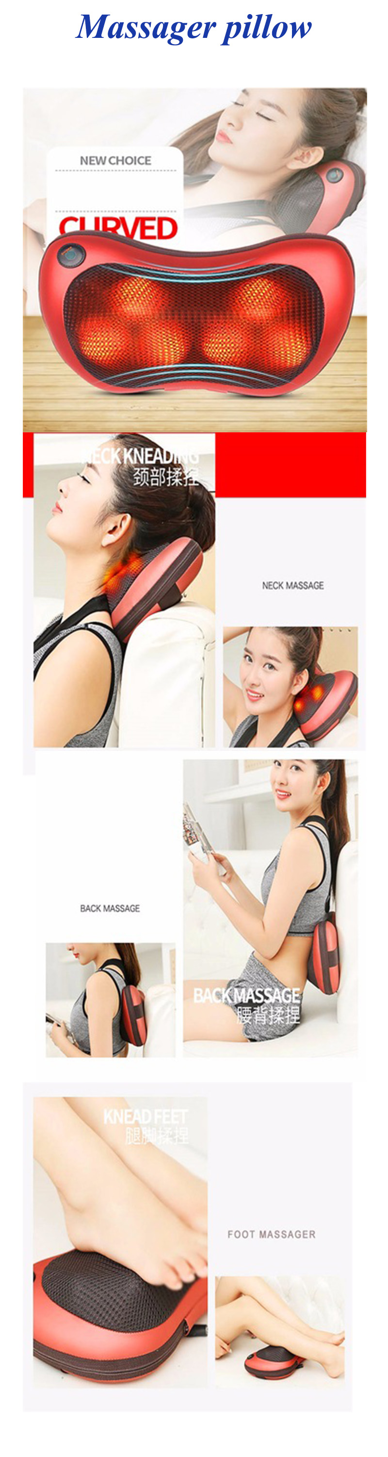 Beautiful Relax the Back Massager