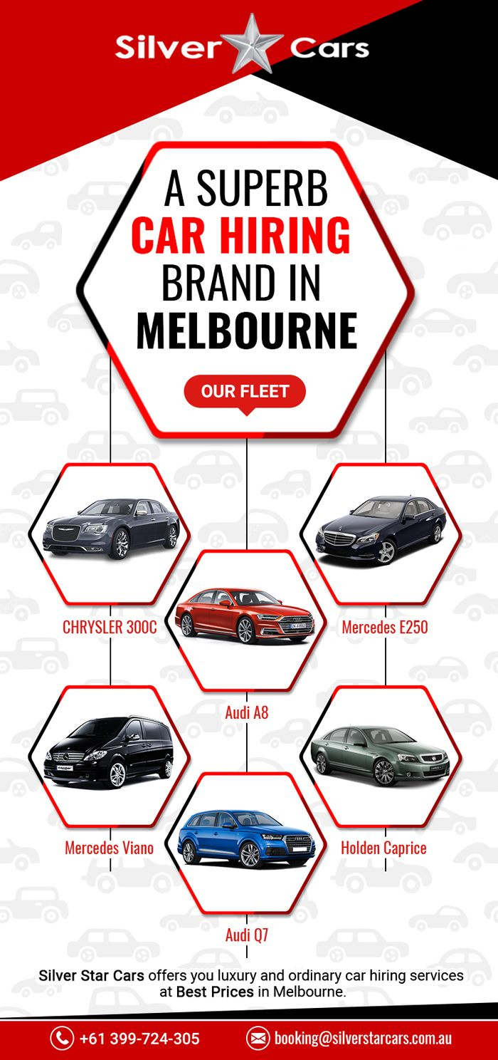 Silver Star Cars provides a large fleet of cars in