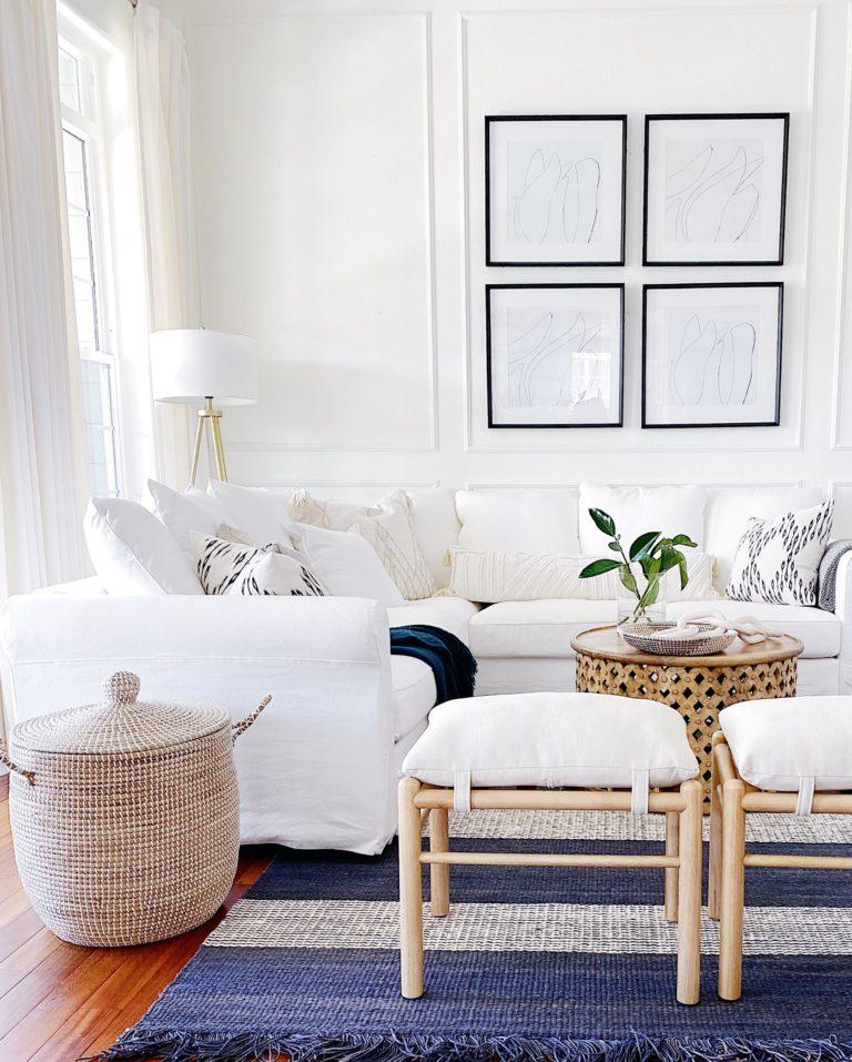 Modern Coastal Decorating Ideas For Your Home Jane At Home In 2020 Modern Coastal Decor Living Room Decor Neutral Living Room Decor #pictures #of #living #room #decor #ideas