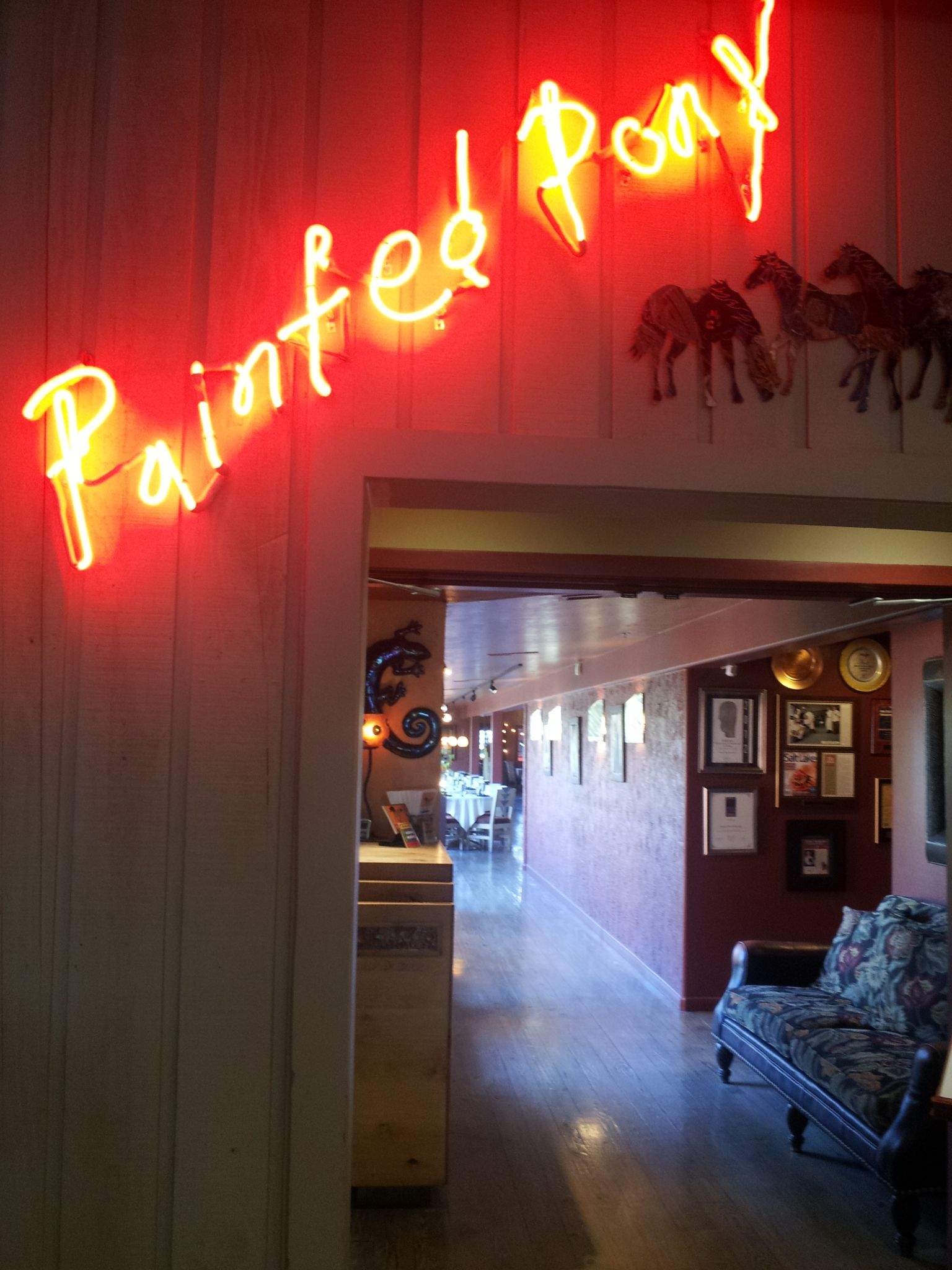 Painted Pony Restaurant Located On Main Street In The Downtown