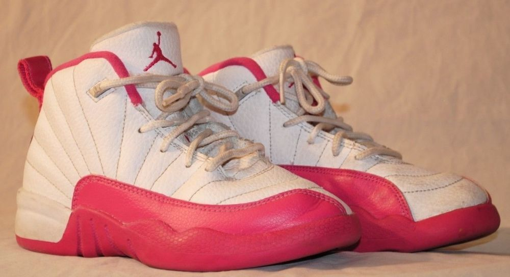 Air jordan 12 size 13c retro valentines day pink gp 510816