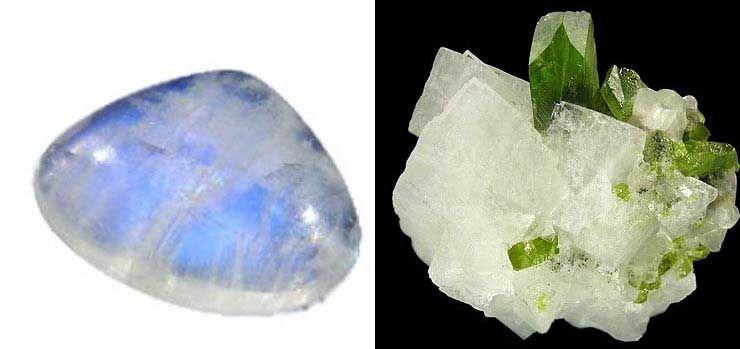 Piedra Luna Piedra De Luna Propiedades De Las Piedras Piedras Y Cristales