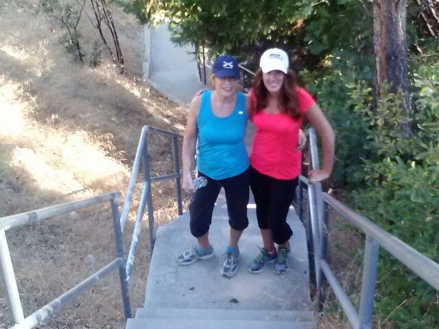 Workout with my mom