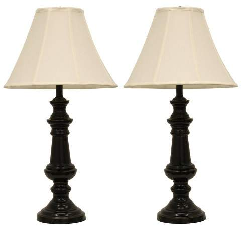 Decor Therapy Pair Of Touch Control Table Lamps Bronze Lamp Only