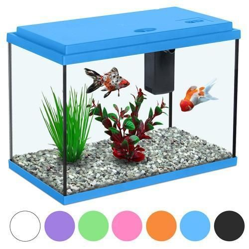 Funny Fish 35 Kids Childrens Aquarium Fish Tank Small Nano 15l 7 Colours Fish Tank Aquarium Fish Tank Small Fish Tanks