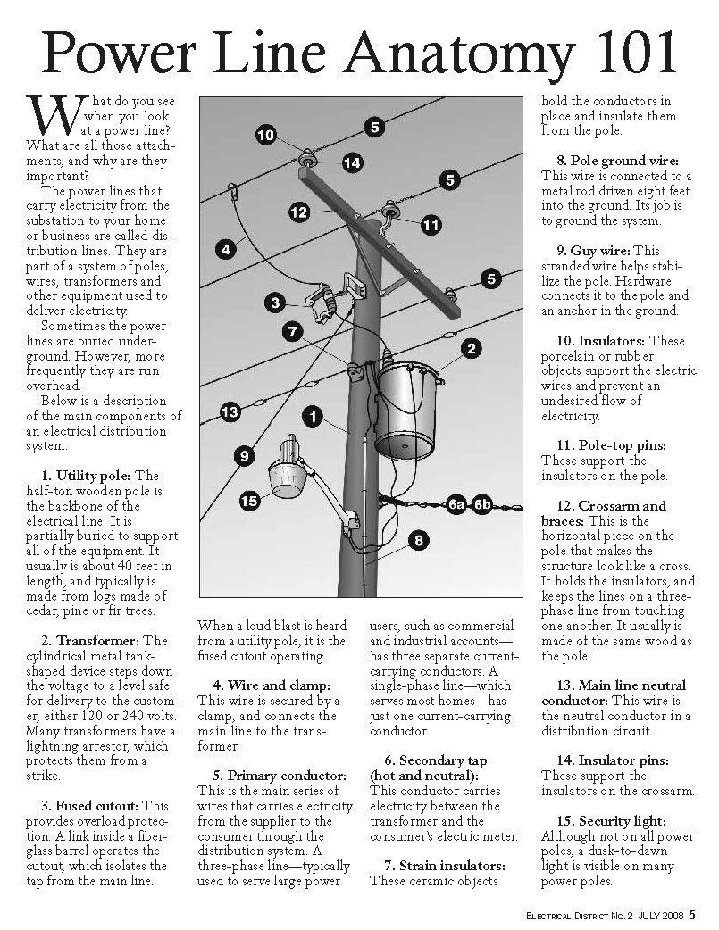 power line anatomy 101 | Power exhibit | Pinterest | Anatomy