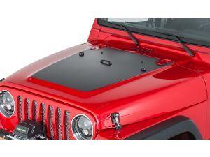 Quadratec Premium Vinyl Hood Blackout Decal For 97 06 Jeep Wrangler Tj Unlimited Jeep Wrangler Tj Jeep Wrangler Wrangler Tj
