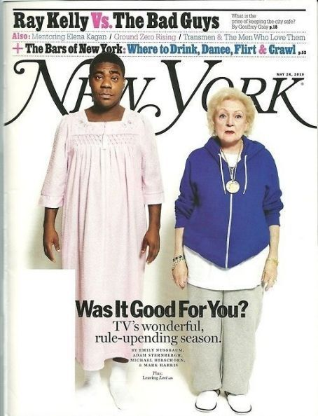 Tracy Morgan, Betty White