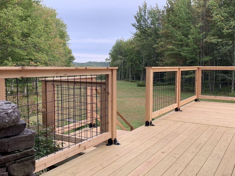 Wild Hog Railing | 1000 in 2020 | Wood deck railing ...