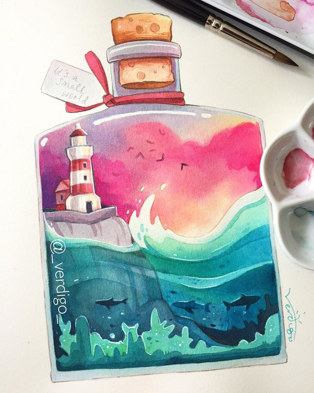 See more @ https://watercolorpainting.com #watercolor #watercolorpainting  #watercolor_art #wat…   Watercolor illustration, Illustration art drawing,  Watercolor art