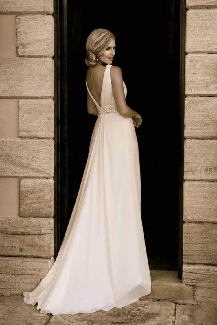 Classic Backless Wedding Dress For Party Brides Pinterest
