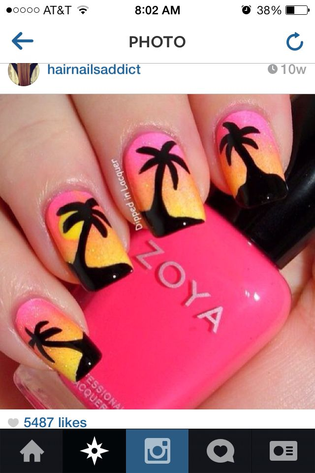 Palm trees. <3