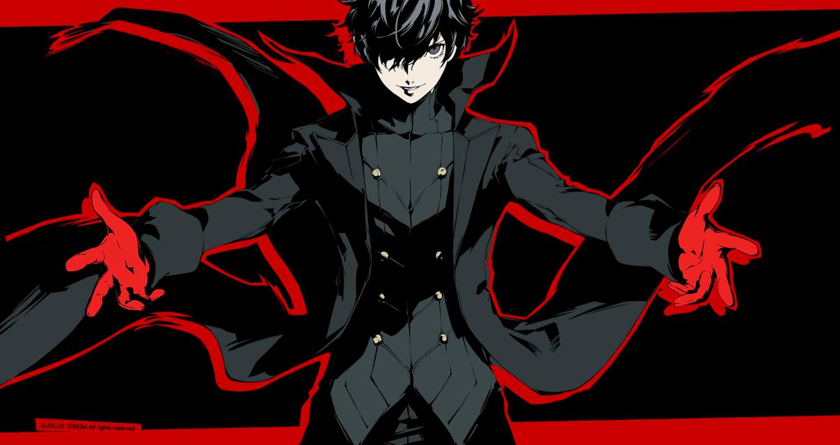 Protag Theme Png Png Grafik 1207 640 Pixel Persona 5 Persona 5 Joker Persona