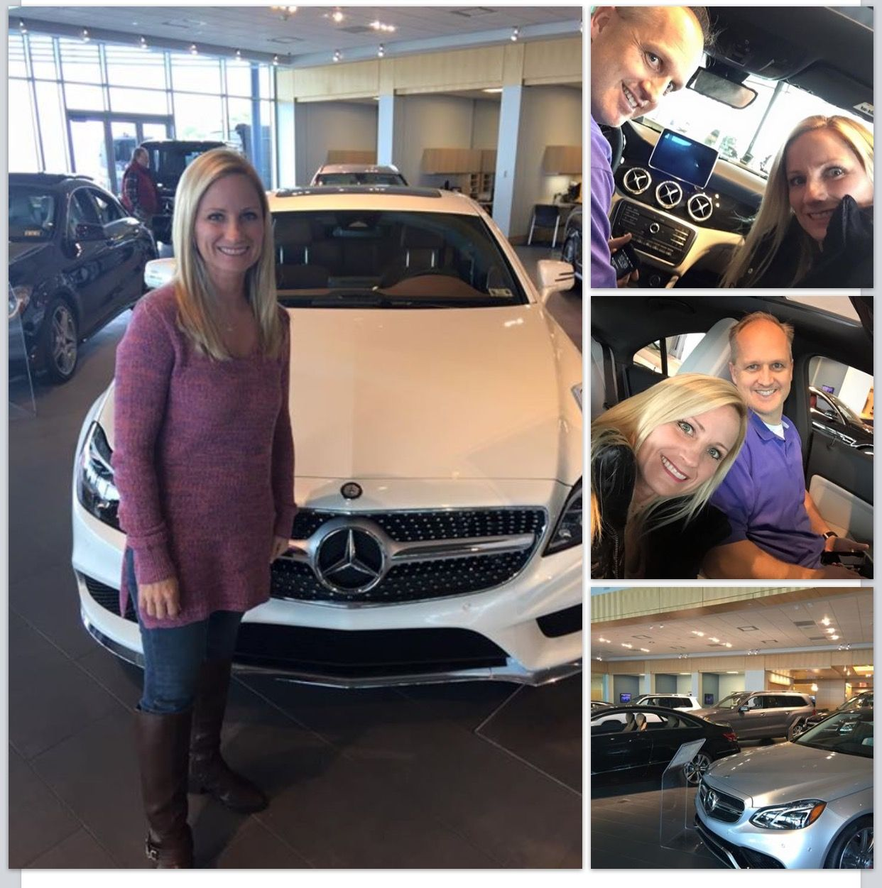 Congratulations to Jon and Tracey Westrom who bought a new Mercedes today! Our Dream Car promotions can get you one of these beautiful new cars too!