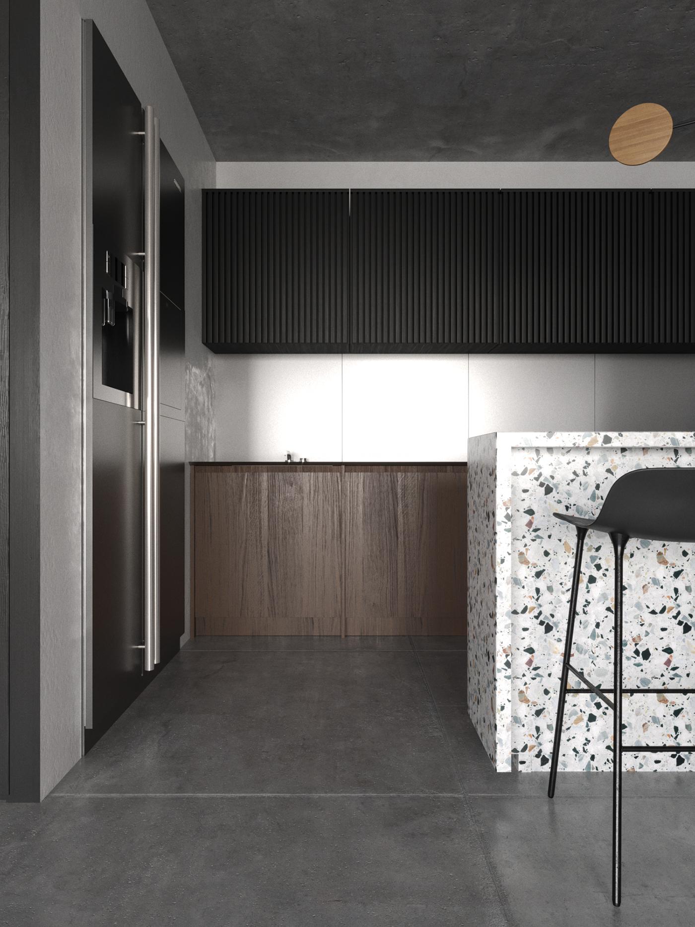 Dachboden über küchenideen soul project vol on behance  küche  pinterest