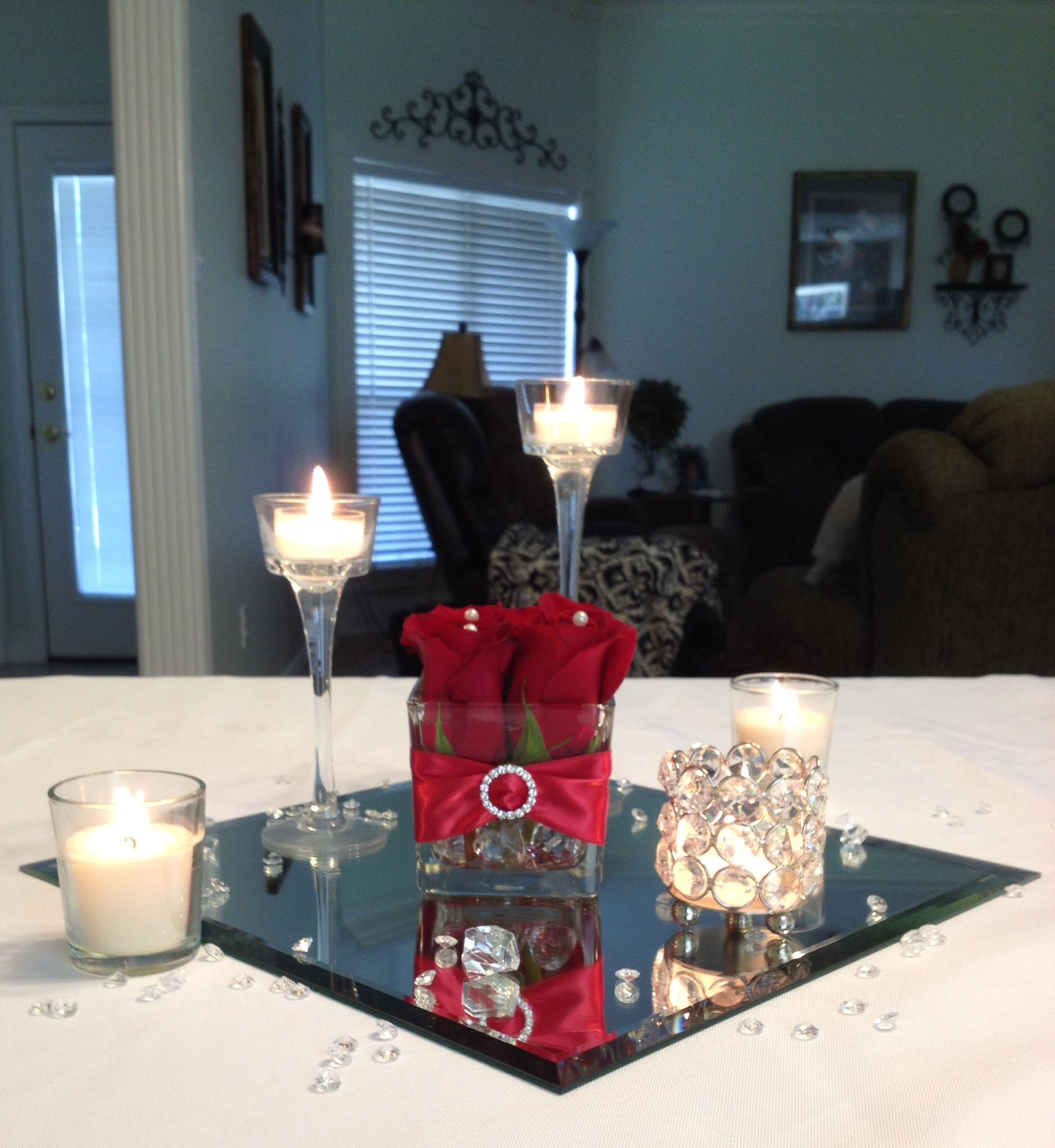 Very Low Budget Wedding: Low Wedding Centerpiece On A Budget By Vera