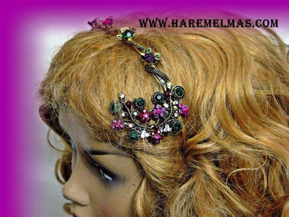 Fancy Design Bridal Crown  Tiara Ottoman tiara by VirjinyaCVDesign