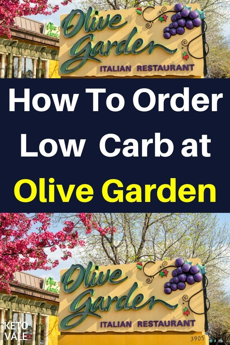 Olive Garden Low Carb Options What To Eat and Avoid on