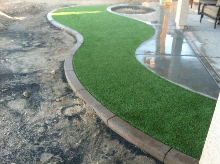 Our Beautiful Bermuda Artificial Grass Installed For Arizona Royal