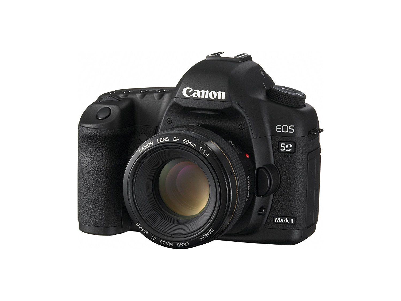 Amazon.com : Canon EOS 5D Mark II Full Frame DSLR Camera (Body Only ...