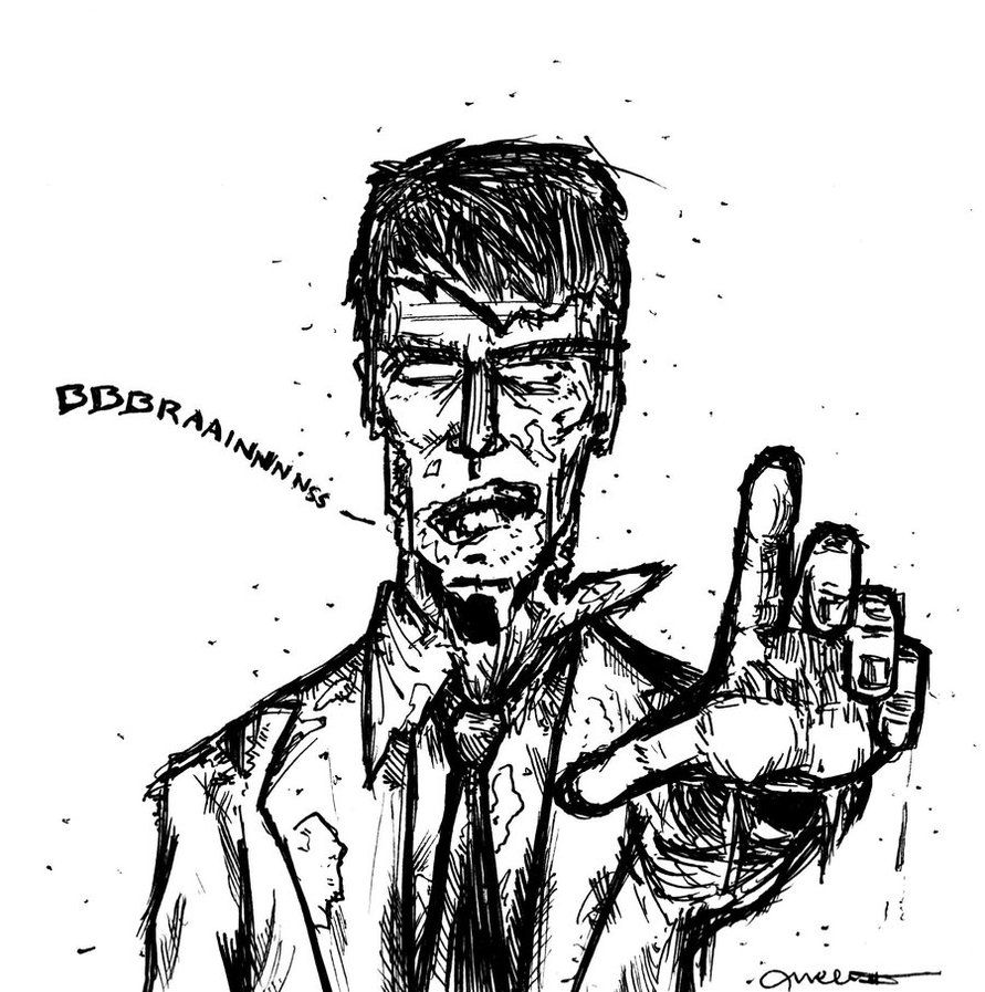 zombies coloring pages Zombie