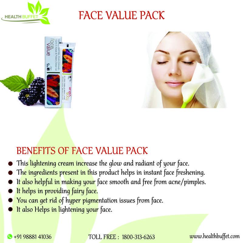 Arlak Face Value Pack (Skin Lightening Cream For Women