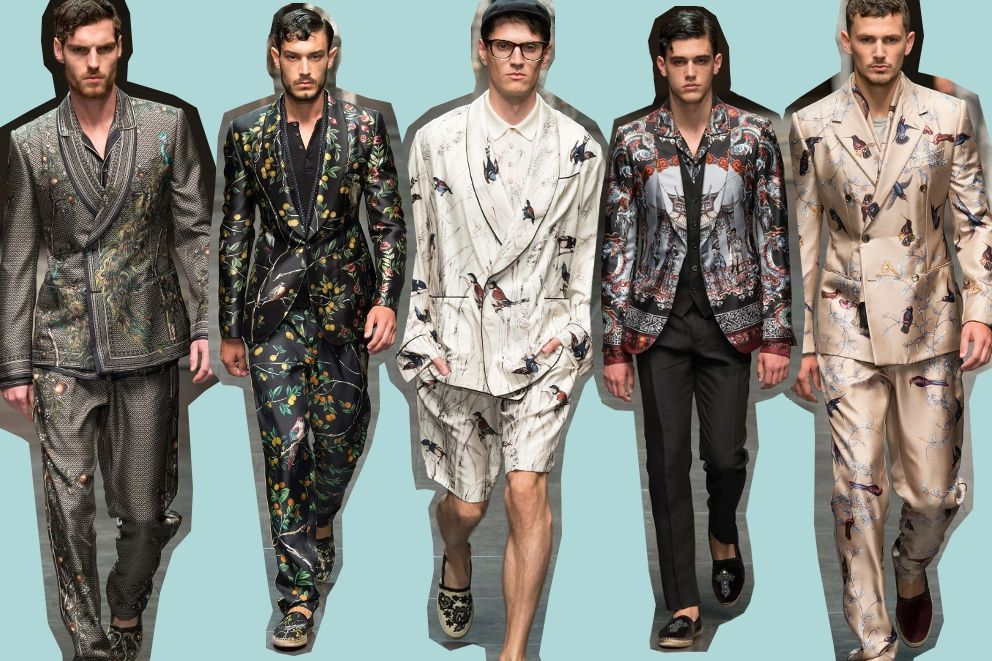 The best of menswear spring 2016 from Milan runways. Dolce