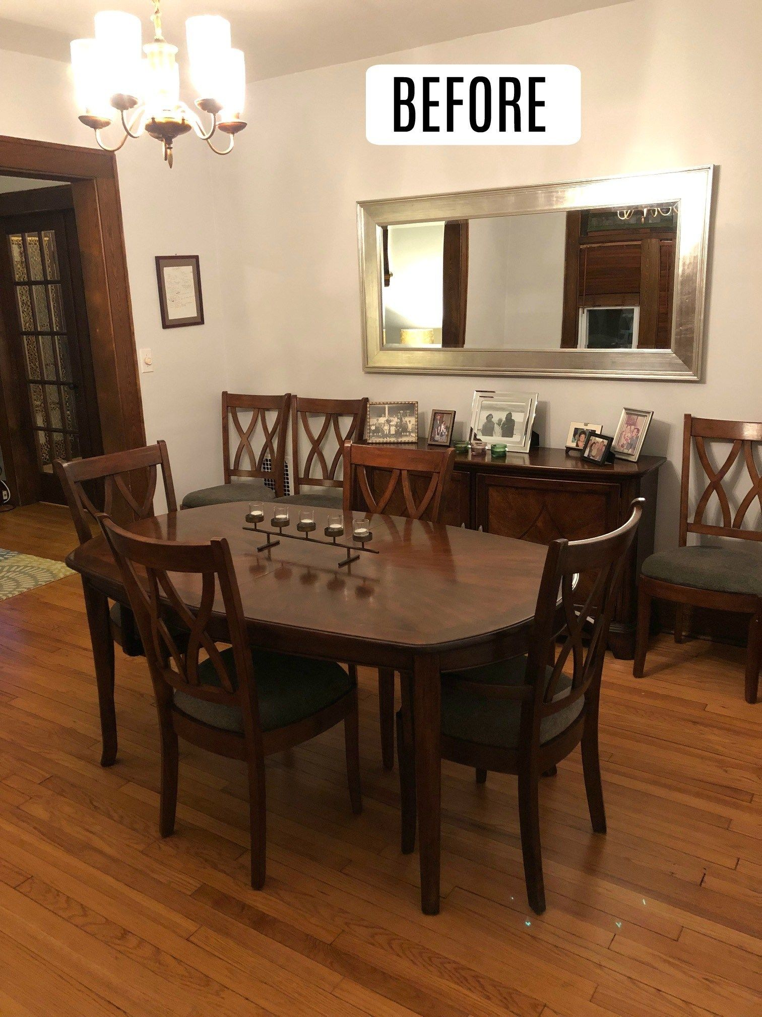 Dining Room Makeover And Board And Batten Wall Dining Room