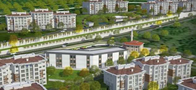 TOKİ Dilovası'na 915 konut inşa edecek