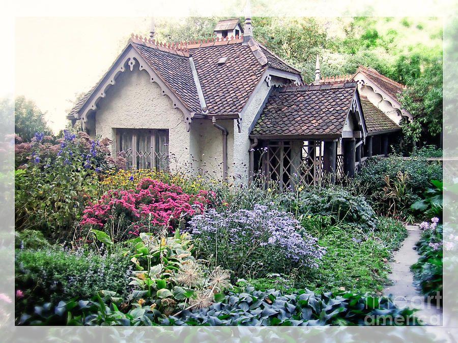 English Cottage Garden by Edward Fielding | Cottage garden ...