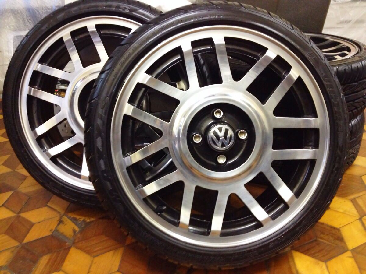 Vw wheel whores VWVortexcom mk3s on Borbet type A39s Cars n