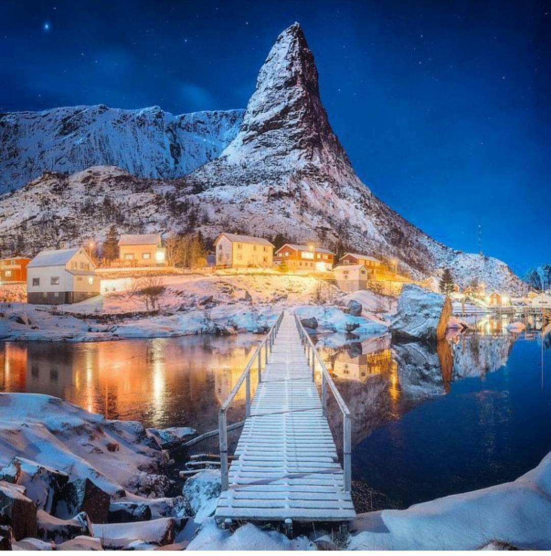 """Places To Visit In Christmas Island: Aroundtheworldpix: """"Reine Fishing Village. Lofoten Norway"""