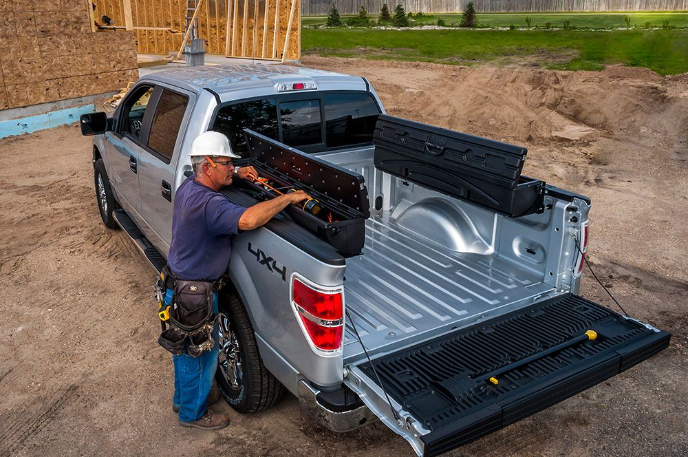 The DUHA Humpstor Tool Box can be mounted on both sides