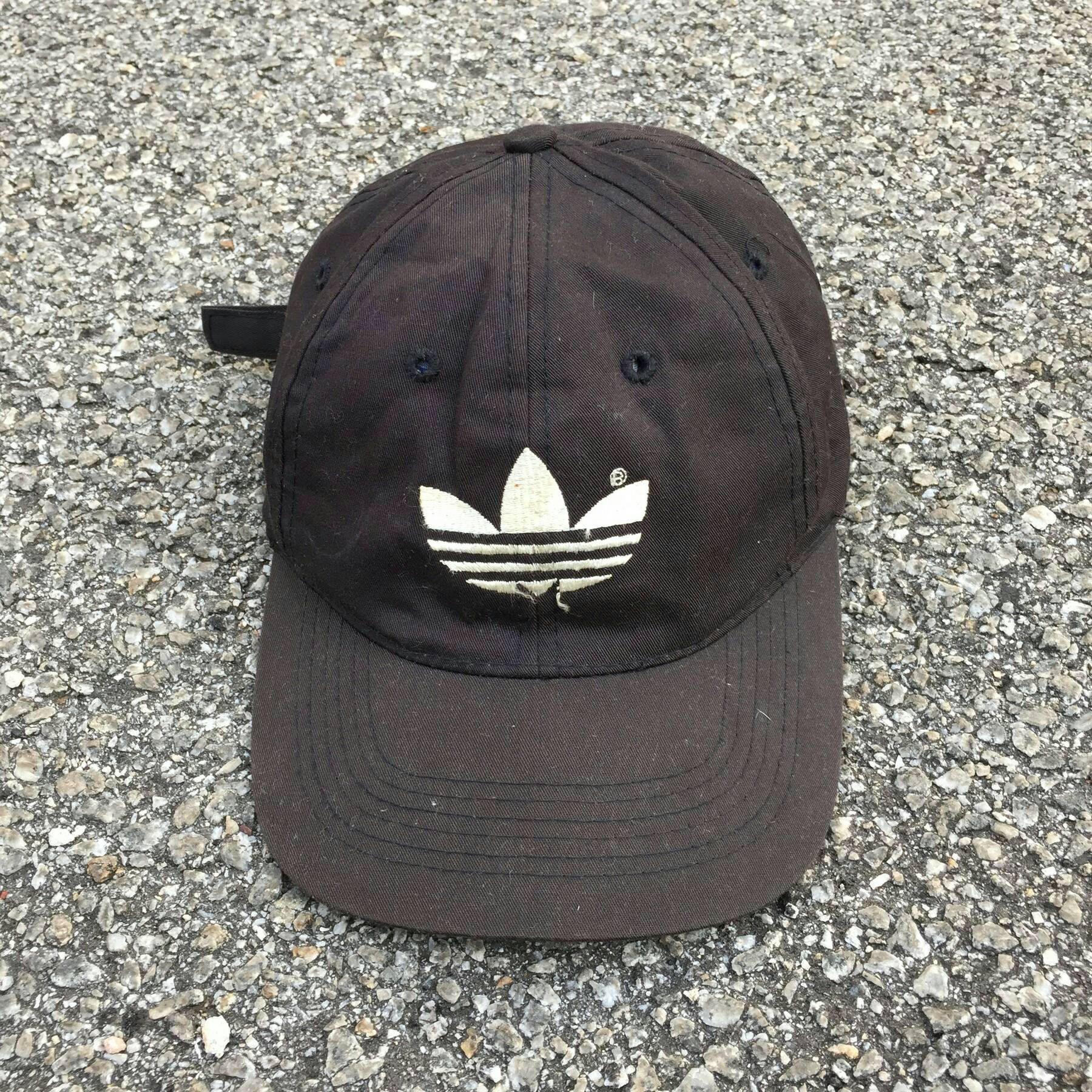 6ac8a41944361 ADIDAS TREFOIL Cap Vintage 90's Adidas Sportswear Cap Snapback ...