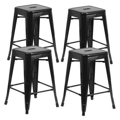 Admirable Vogue Furniture Direct 24 In Backless Square Counter Stool Beatyapartments Chair Design Images Beatyapartmentscom