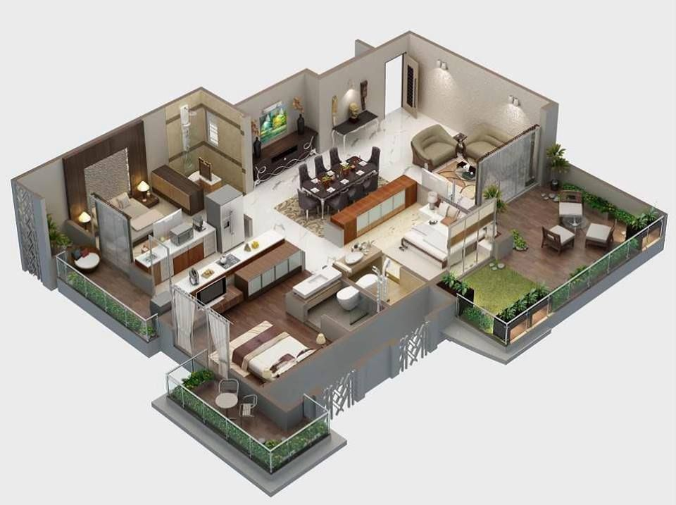 Apartment Design 3d