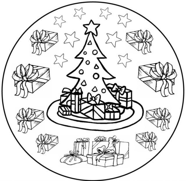 weihnachtsmandala 7  medienwerkstattwissen © 20062015